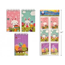 Easter Mini Notebooks - 20/sheets ~ 6 per pack