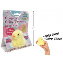 Easter B/O Chirping Chick