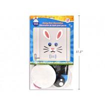 Easter Googly Eyes Bunny Face Door Cover