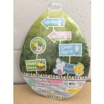 Easter Egg Hunt Signs ~ 6 per pack