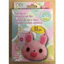 Easter Felt Purse Sewing Craft Kit