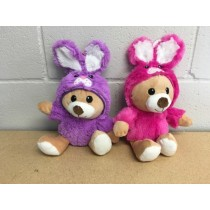 Easter Plush Bunny with Hoody Jacket ~ 14.25""