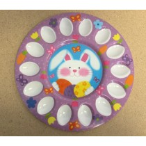 14 Cavity Easter Egg Platter ~ 10-7/8""