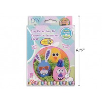 Easter Egg EVA Foam Decorating Kit ~ set of 12