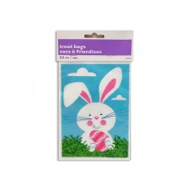 "Easter Bunny Print Treat Bags - 6"" x 4"" ~ 50 per pack"