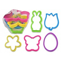Easter / Spring Cookie Cutters in Net Bag