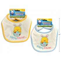 Easter Embroidered 2-Layer Micro Fibre Bib