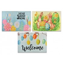 "Easter Door Mat ~ 23-5/8"" L x 15.75"" H"