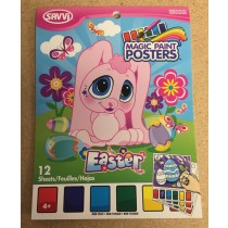 Small Easter Paint Poster Book