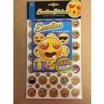 Emoji Sticker Album Set