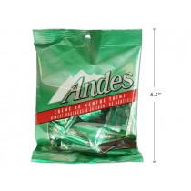 Andes Creme De Menthe Thins ~ 71gram bag