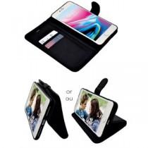 iPhone 7/8 Plus Leatherette Wallet Phone Case