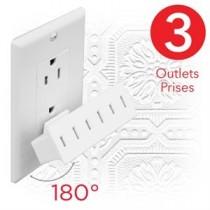 eLink 3 Outlet Swivel Wall Tap
