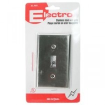 Light Switch Wall Plate - Stainless Steel ~ 1 per pack