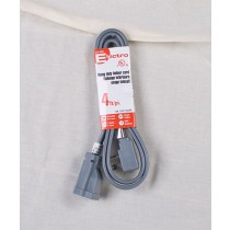 Heavy Duty Indoor Extension Cord w/1 Outlet ~ 4'