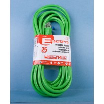 Heavy Duty Outdoor Extension Cord w/1 Outlet - 25'