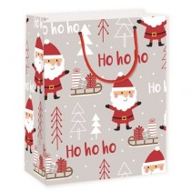 Christmas Large Gift Bag ~ Ho Ho Ho