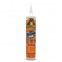 Gorilla 100% Silicone Sealant - Clear ~ 295ml Tube