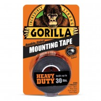 "Gorilla Heay Duty Mounting Tape ~ 1"" x 60"" ~ holds up to 30lbs"