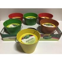 """Citronella Candle 4-1/8"""" in Plant Fibre Pot ~ 6 per display"""