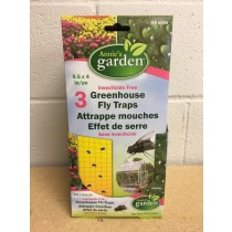 Annie's Garden Greenhouse Fly Traps ~ 3 per pack