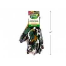 "Gardening Gloves Camo Printed - Nitrile Coated ~ 8"" & 10"""