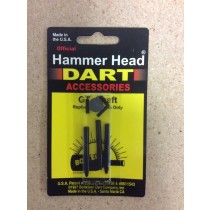 Hammerhead Darts GT Shaft ~ Medium Black