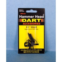 Hammerhead Darts GH Shaft ~ Short Black