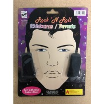 Halloween Rock-N-Roll Star Sideburns