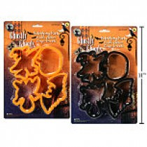Halloween Plastic Cookie Cutters ~ 4 per pack