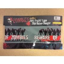 Halloween Zombie Fright Tape ~ 20'