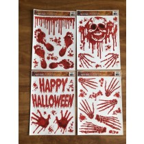 Halloween Bloody Window Clings