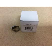 "Hose Clamps Box of 10 - SAE# 6 ~ 3/8"" to 3/4"""