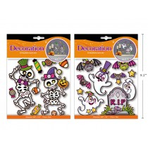 Halloween Foil Embossed Room Decor ~ 2 assorted