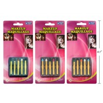 Halloween Large No-Mess Make-Up Crayons ~ 5 per pack