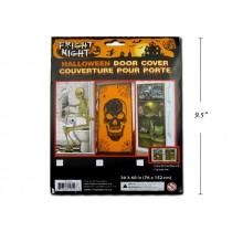 """Halloween Door Cover ~ 60"""" x 30"""""""