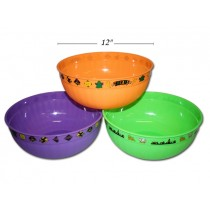 Halloween Trick-or-Treat Bowl ~ 12""