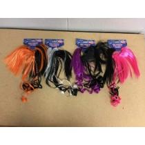 Halloween Hair Scrunchy ~ 4 assorted