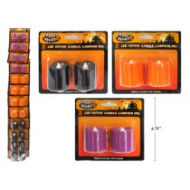 Halloween LED Flickering Votive Candles ~ 2 per pack