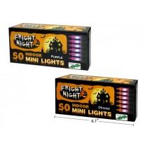 Halloween Mini Indoor Incandescent Light Set ~ 50 per string