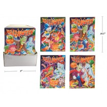 Halloween Coloring Books ~ 96 pages