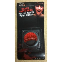 Halloween Special FX Black Tooth Wax