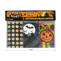 Halloween Notebook - 30 pages ~ 3 per pack
