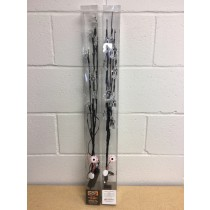 """Halloween 20 LED Light Up Branches ~ 30"""" High"""