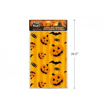 "Halloween Flannel Back Tablecloth ~ 52"" x 70"""
