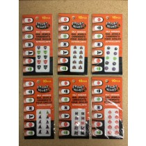 Halloween Self Adhesive Finger Nail Jewels