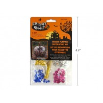 Halloween Sequin Pumpkin Decorating Kit