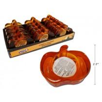 Halloween Glass Pumpkin T-Lite Holder ~ 15 per display