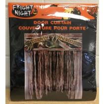 Halloween Non-Woven Creepy Doorway