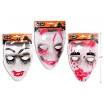 Halloween Bloody PVC Vacuum Formed Mask